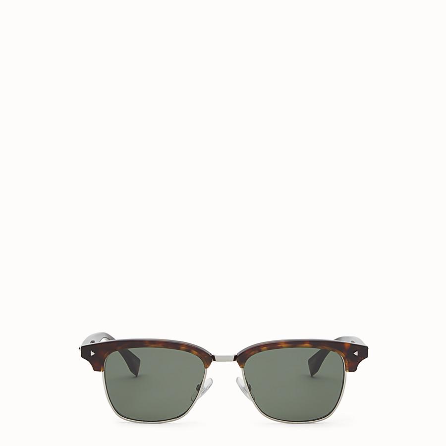 FENDI FENDI SUN FUN - Havana sunglasses - view 1 detail