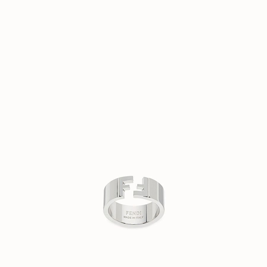 FENDI RING - Silver coloured ring - view 1 detail