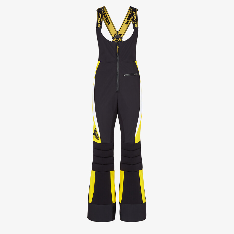 FENDI SKI SUIT - Black tech nylon ski suit - view 1 detail