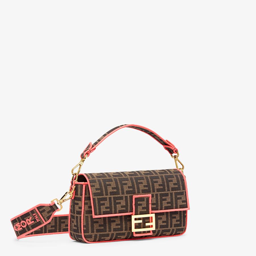 FENDI BAGUETTE - Fendi Roma Amor fabric bag - view 2 detail