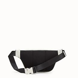 FENDI BELT BAG - White nappa leather belt bag - view 3 thumbnail