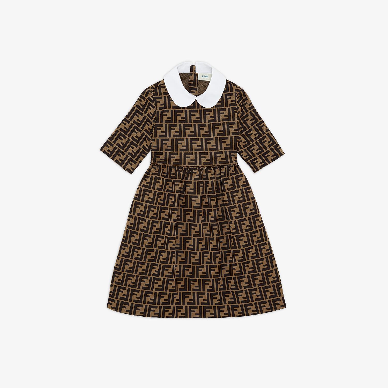 FENDI DRESS - Fabric junior girl dress - view 1 detail