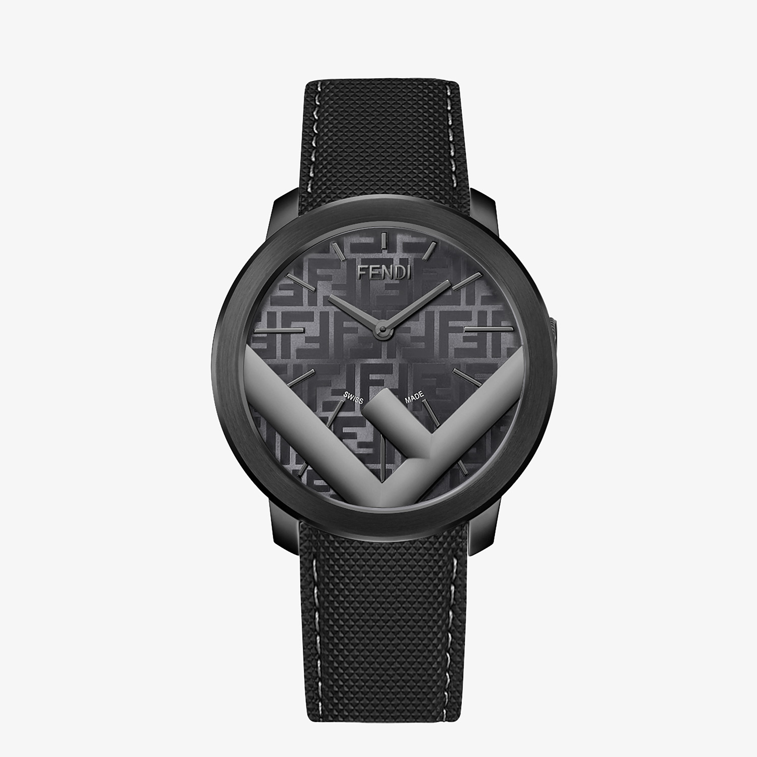 FENDI RUN AWAY - 41 MM - Watch with F is Fendi logo - view 1 detail