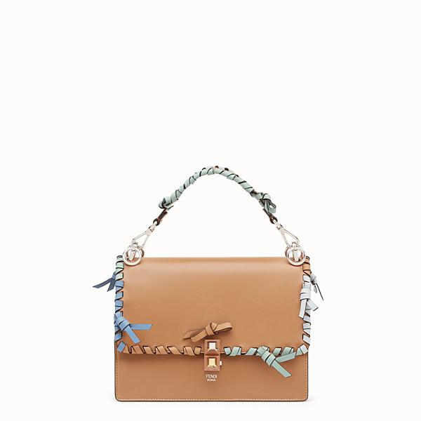FENDI KAN I - Brown leather bag - view 1 small thumbnail