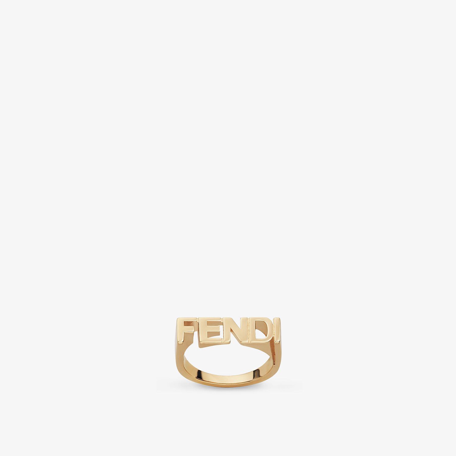 FENDI RING - Gold-colored ring - view 1 detail