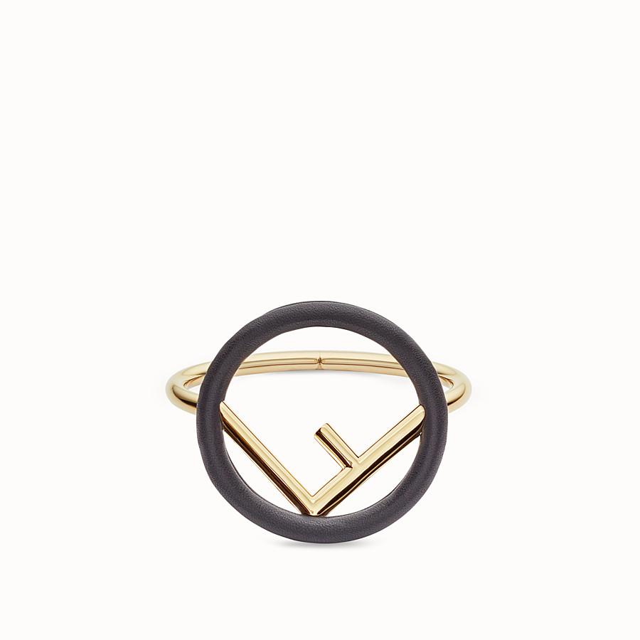 FENDI F IS FENDI ARMREIF - Armband in Schwarz und Gold - view 1 detail