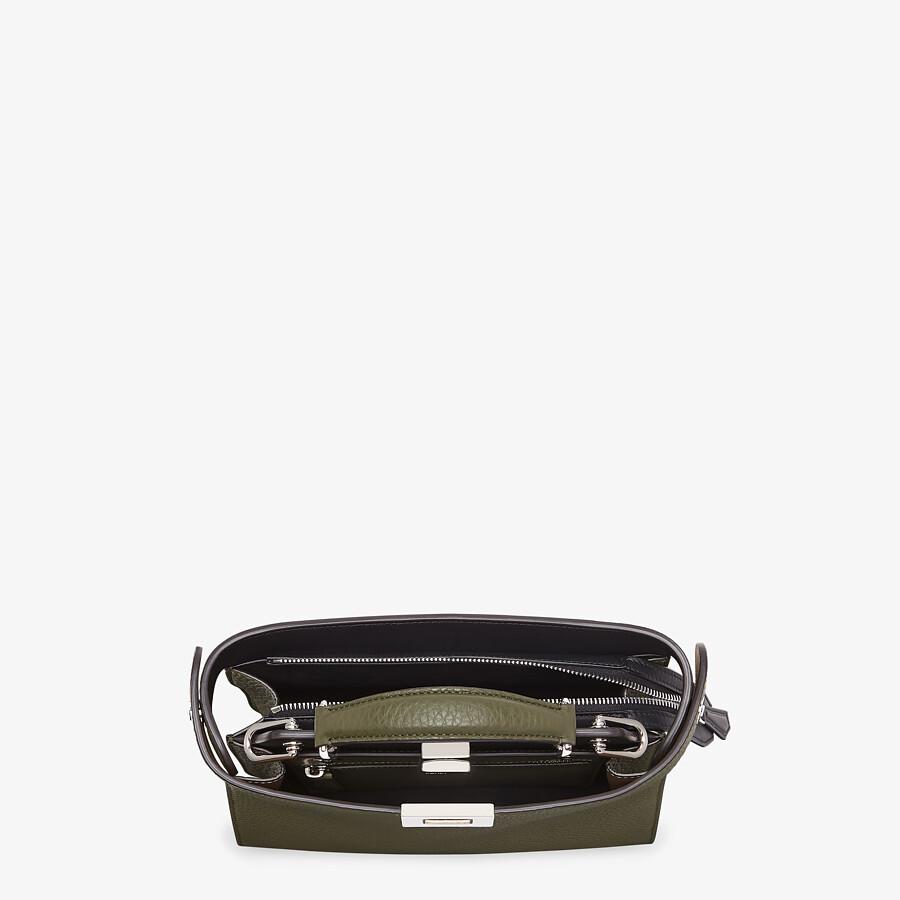 FENDI PEEKABOO ISEEU MINI - Green leather bag - view 5 detail