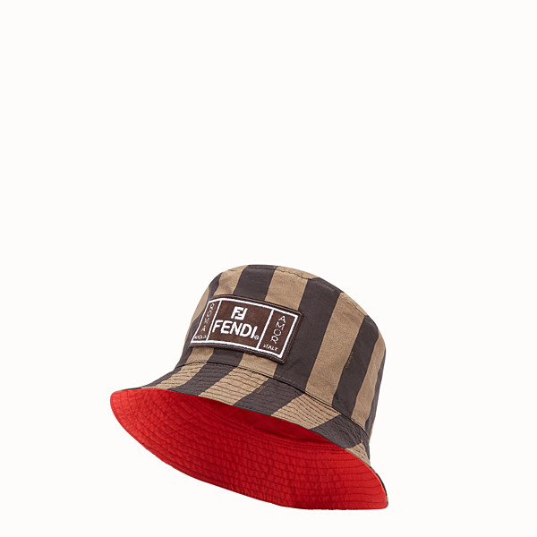FENDI HAT - Multicolor fabric hat - view 1 small thumbnail