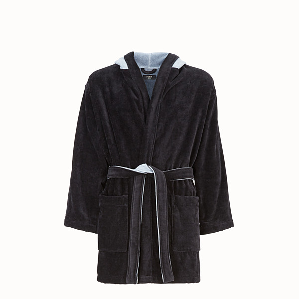 FENDI BATHROBE - Multicolour cotton bathrobe - view 1 small thumbnail