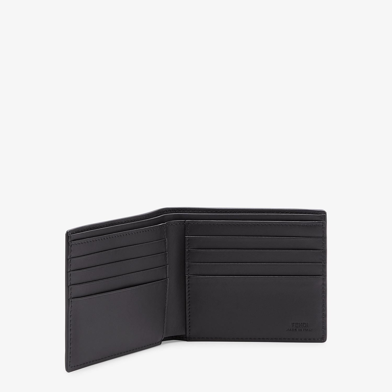 FENDI PORTAFOGLIO - Bi-fold in pelle nera - vista 3 dettaglio