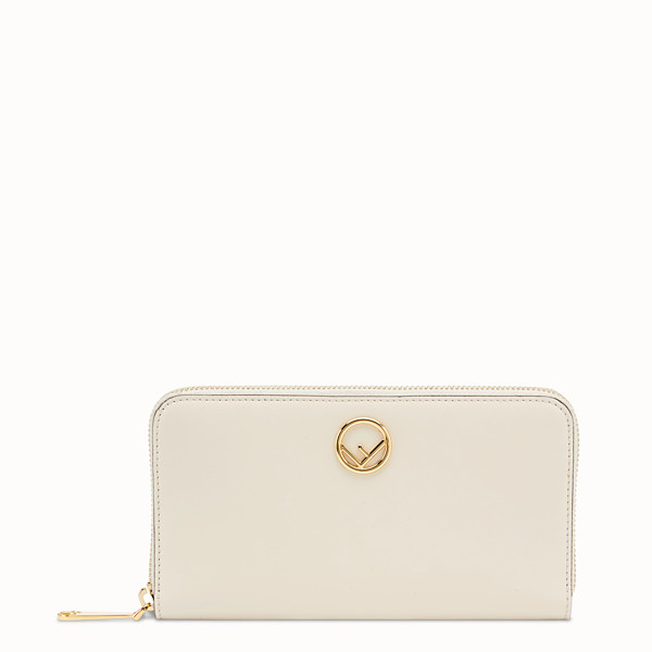 FENDI ZIP-AROUND - White leather wallet - view 1 small thumbnail