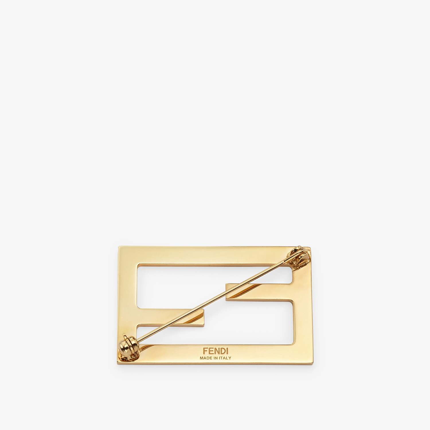FENDI BAGUETTE BROOCH - Gold coloured brooch - view 2 detail