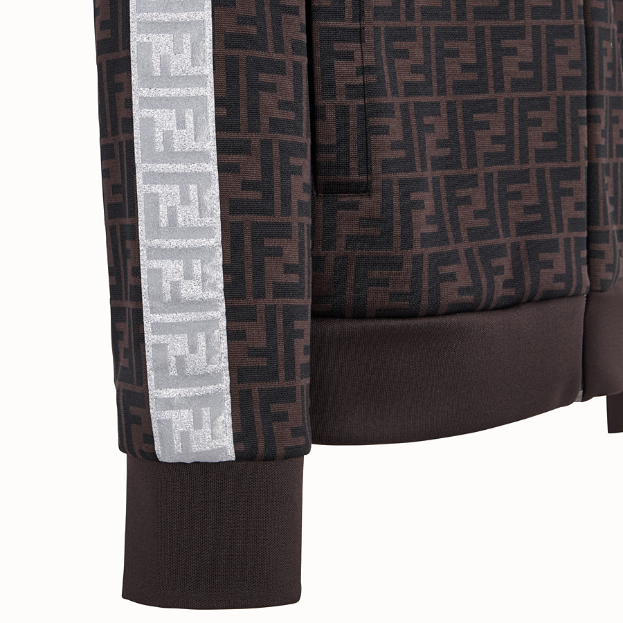 FENDI SWEATSHIRT - Fendi Prints On jersey sweatshirt - view 3 detail