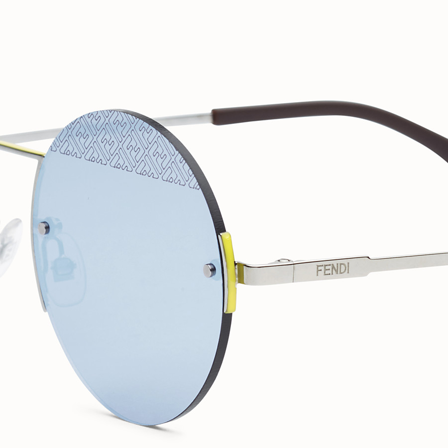FENDI FF - Ruthenium sunglasses - view 3 detail