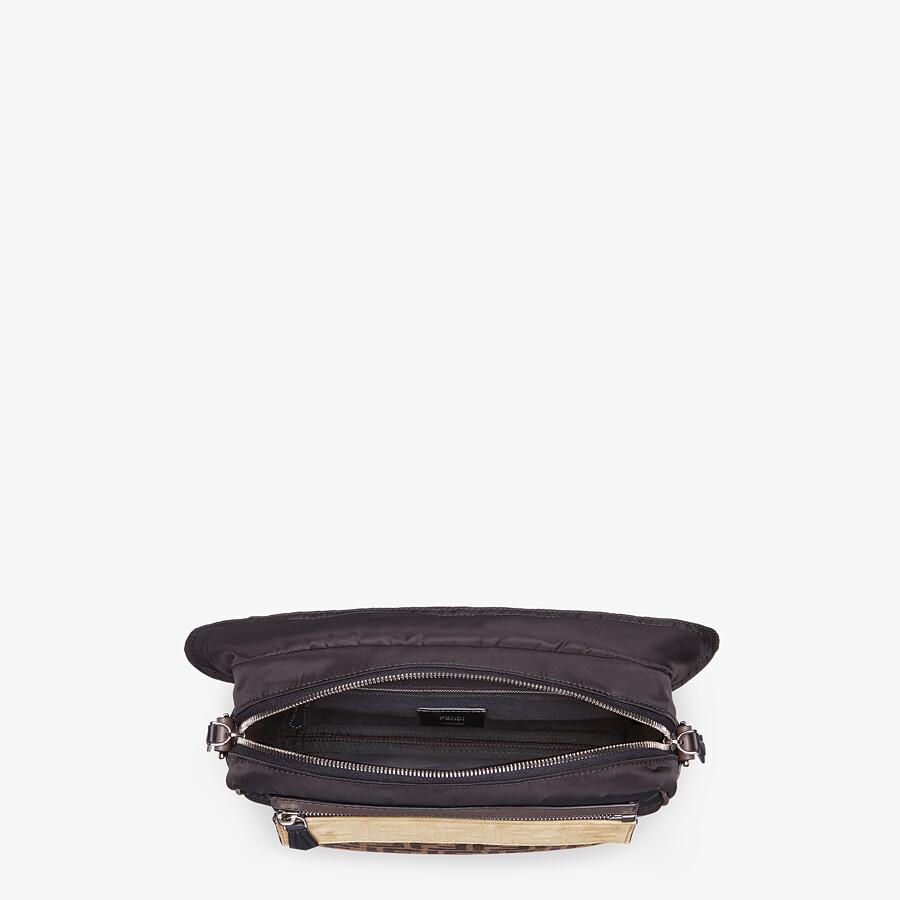 FENDI MESSENGER - Black nylon bag - view 5 detail