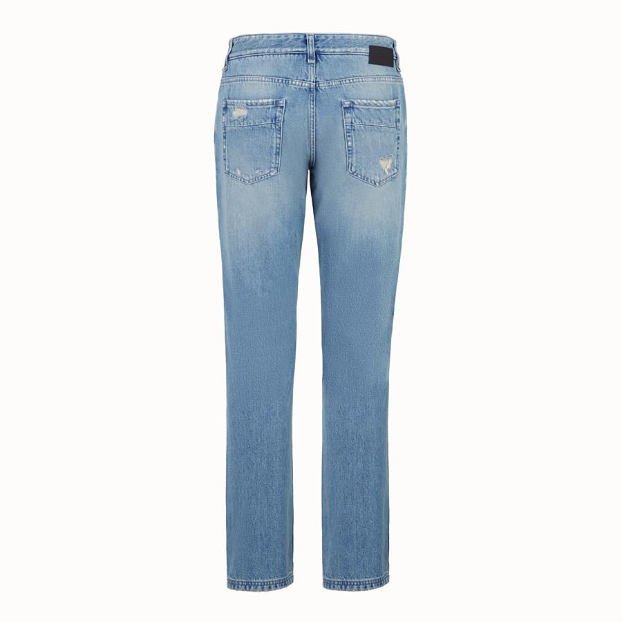 FENDI JEANS - Jeans aus Denim in Blau - view 2 detail