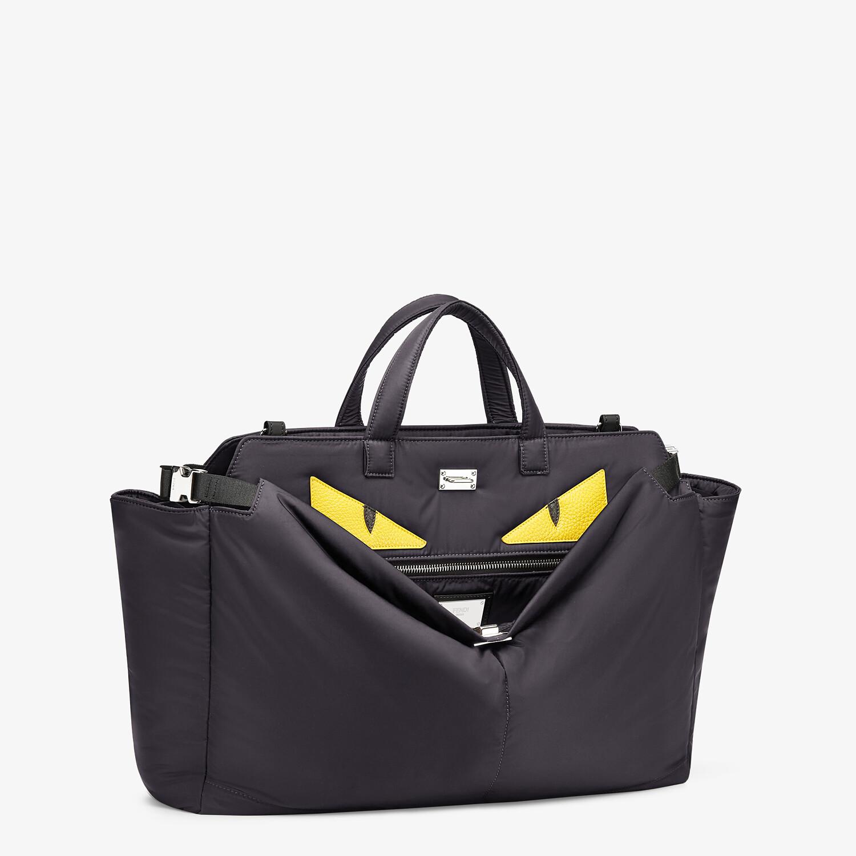 FENDI PEEKABOO ICONIC MEDIUM - Black nylon bag - view 2 detail