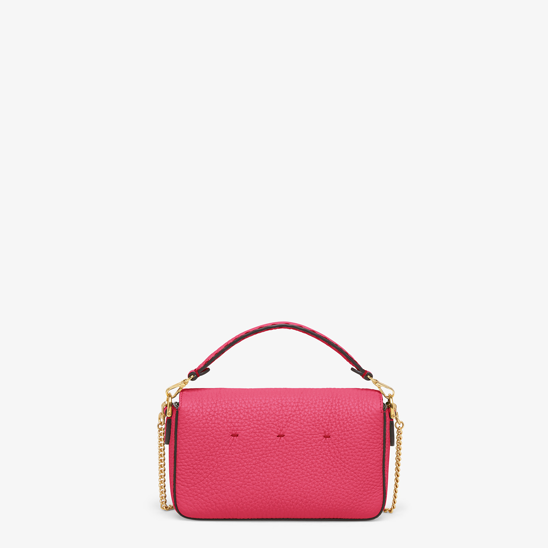 FENDI BAGUETTE MINI - Fendi Roma Amor leather bag - view 3 detail