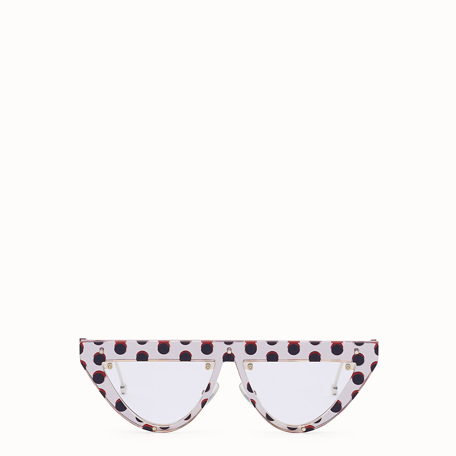 c1d074d1a9e8 Polka dots sunglasses - DEFENDER