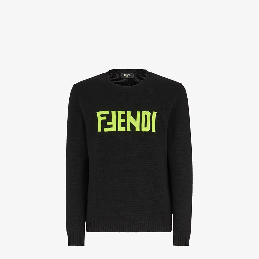 FENDI PULLOVER - Pullover aus Kaschmir in Schwarz - view 1 detail