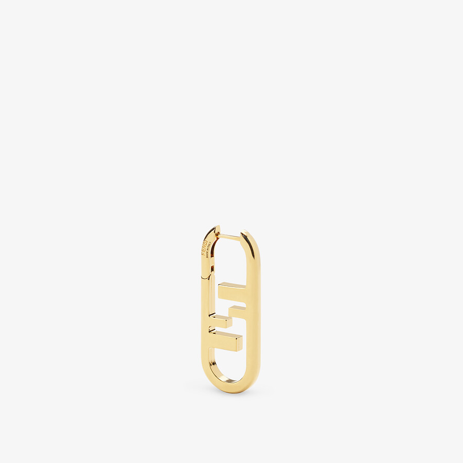 FENDI MONO-OHRRING O'LOCK - Ohrring Goldfarben - view 1 detail