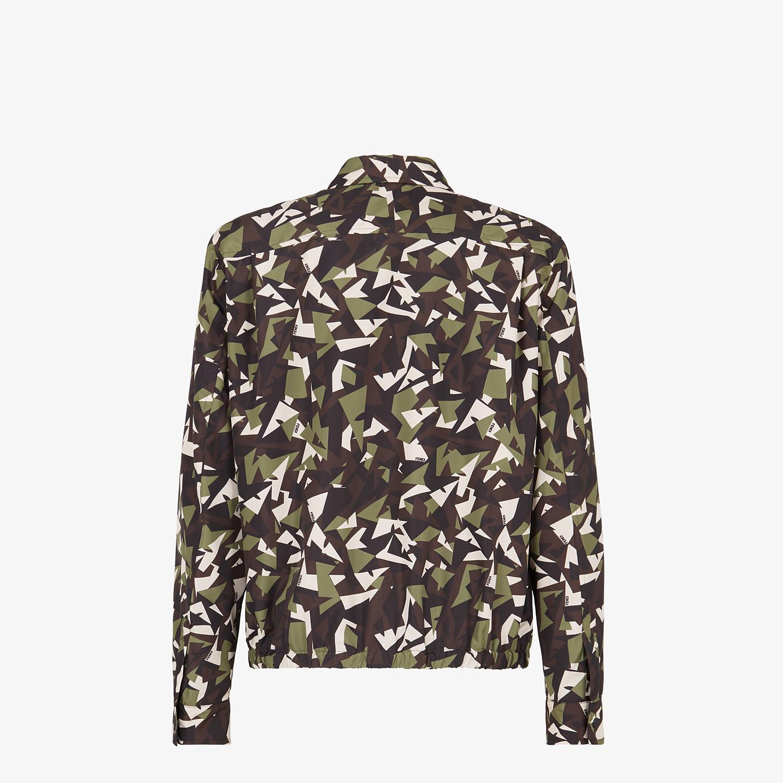 FENDI JACKET - Multicolor fabric jacket - view 2 detail
