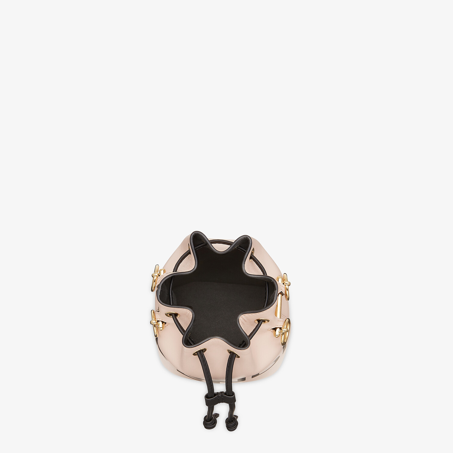 FENDI MON TRESOR - Pink leather mini bag - view 4 detail