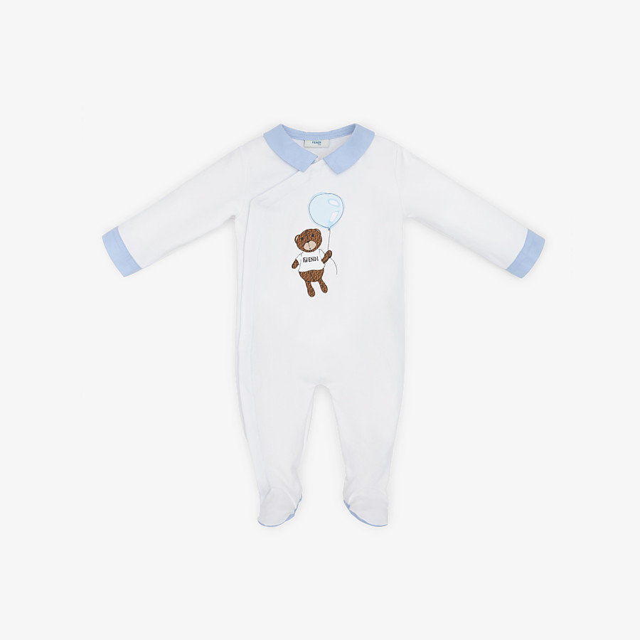 FENDI BABY PLAYSUIT - Printed jersey playsuit - view 1 detail