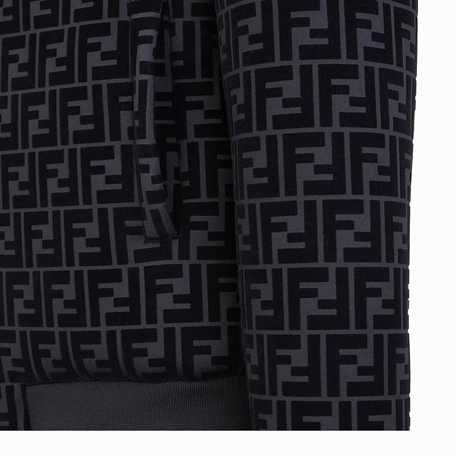 FENDI BLOUSON - Jacke aus Jersey in Schwarz - view 3 detail