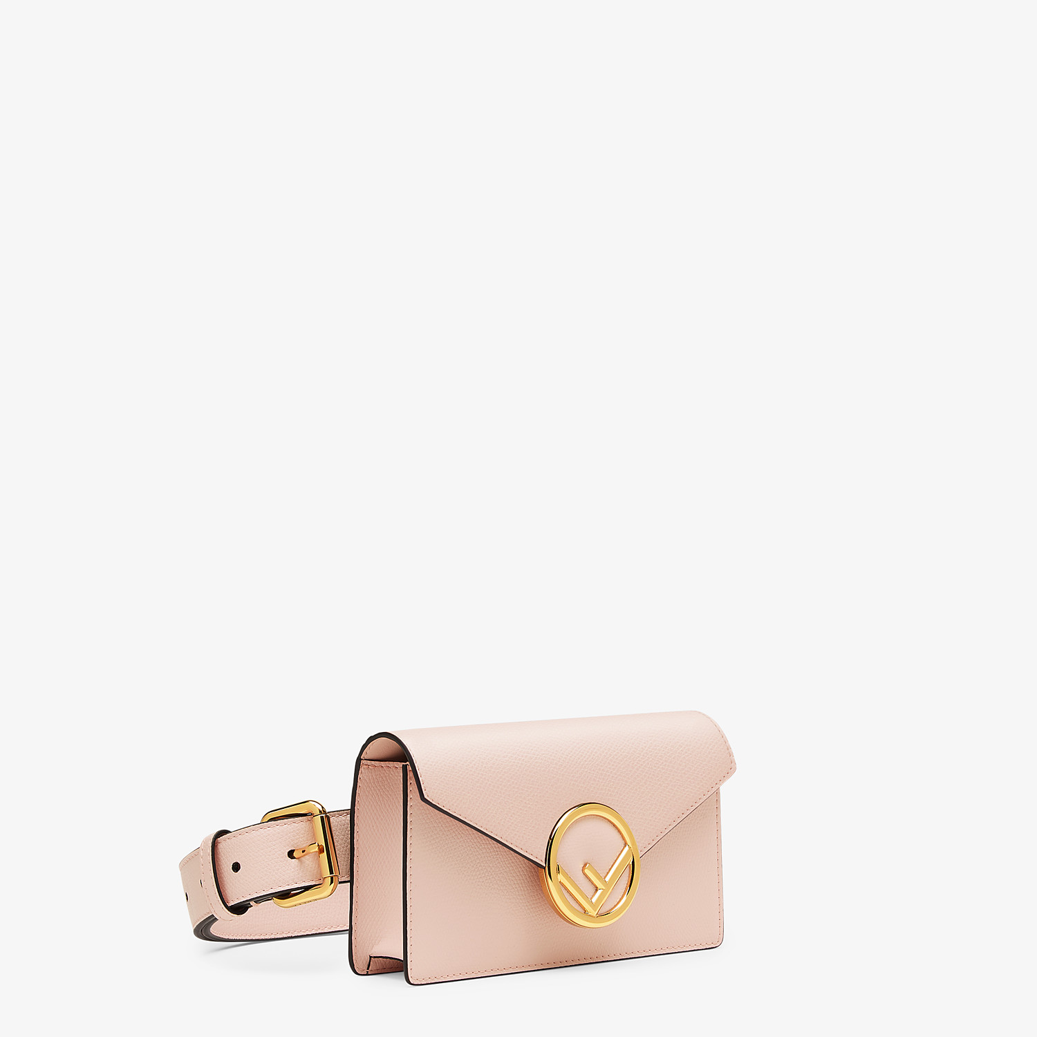 FENDI BELT BAG - Pink leather belt bag - view 2 detail