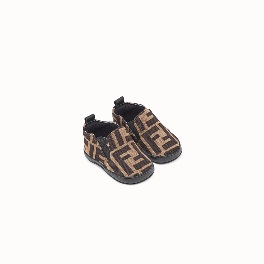 FENDI BABY SHOES - FF logo baby shoes - view 1 detail