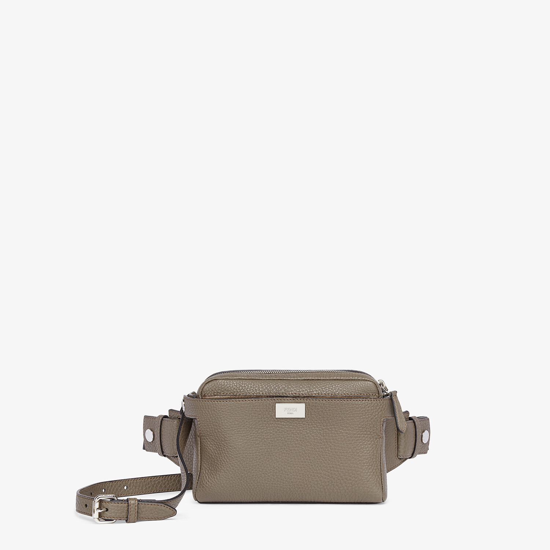 FENDI BELT BAG - Green leather belt bag - view 1 detail