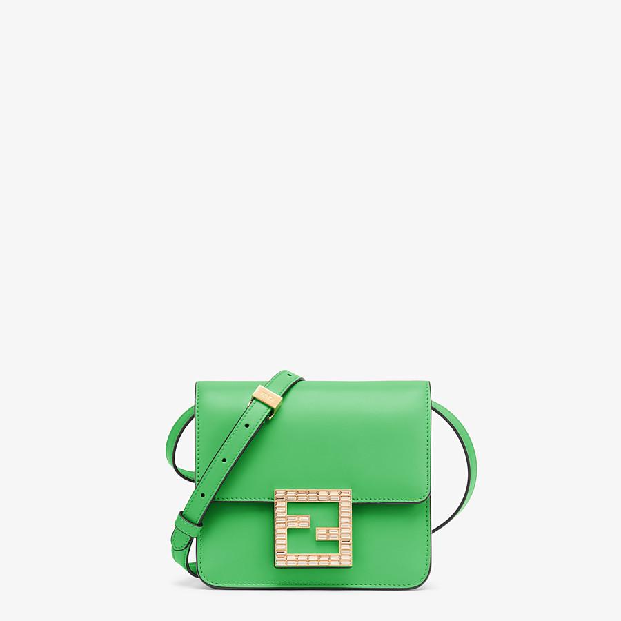 FENDI FENDI FAB - Green leather small bag - view 1 detail