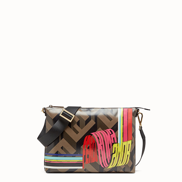 FENDI MESSENGER - Fendi Roma Amor canvas bag - view 1 small thumbnail
