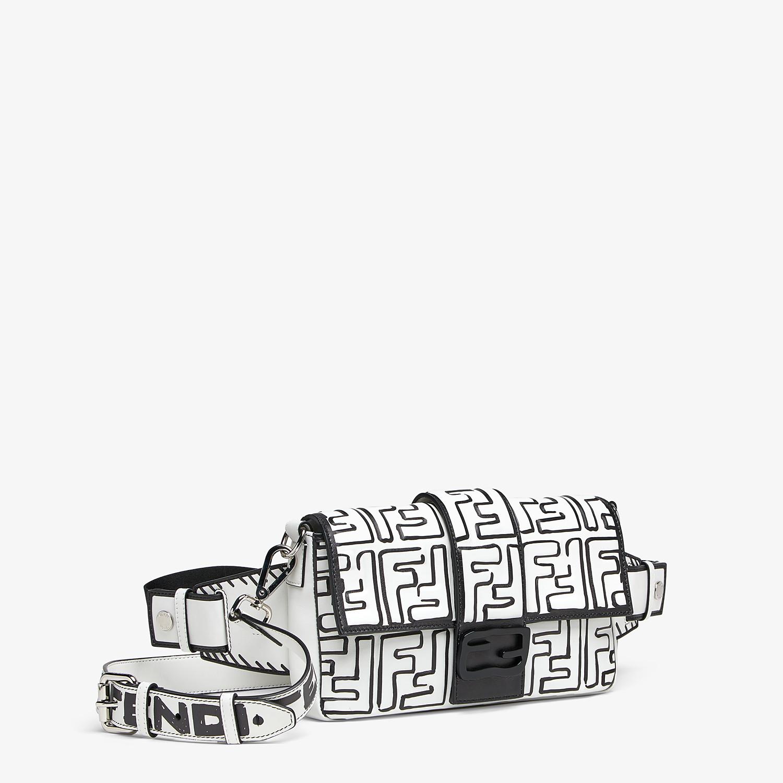 FENDI BAGUETTE - Fendi Roma Joshua Vides nappa leather bag - view 2 detail