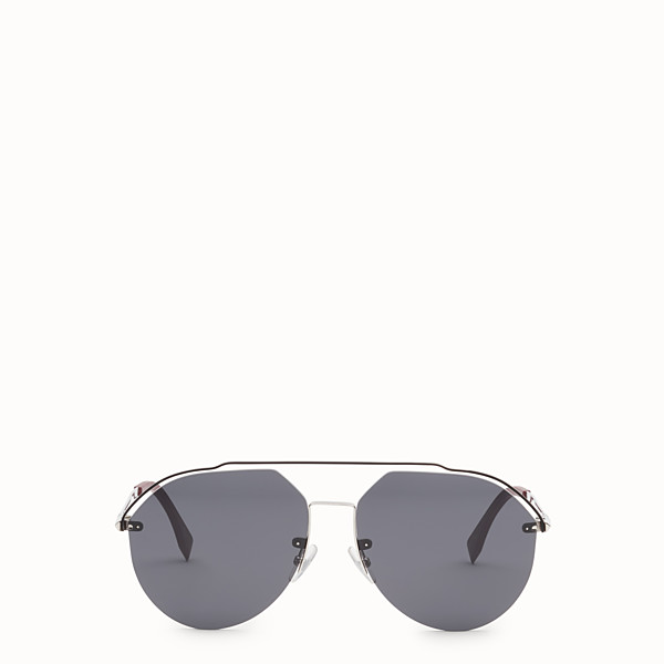 FENDI FENDI FANCY - Silver sunglasses - view 1 small thumbnail
