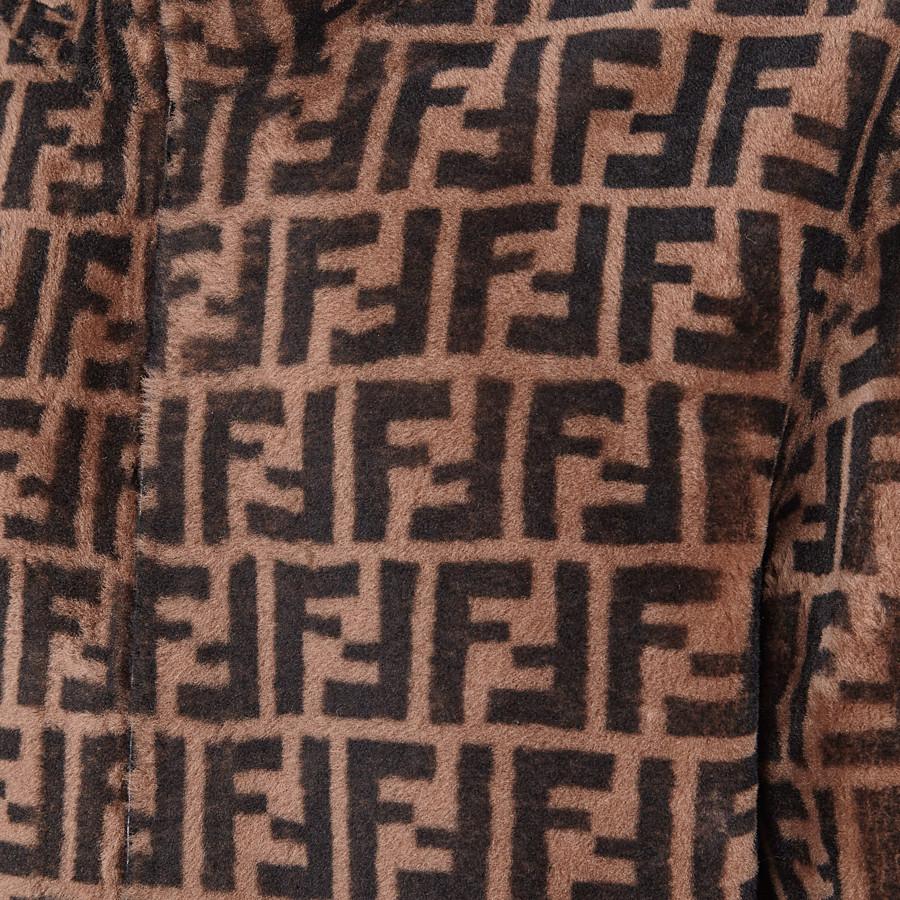 FENDI BLOUSON - Jacke aus Shearling in Braun - view 3 detail