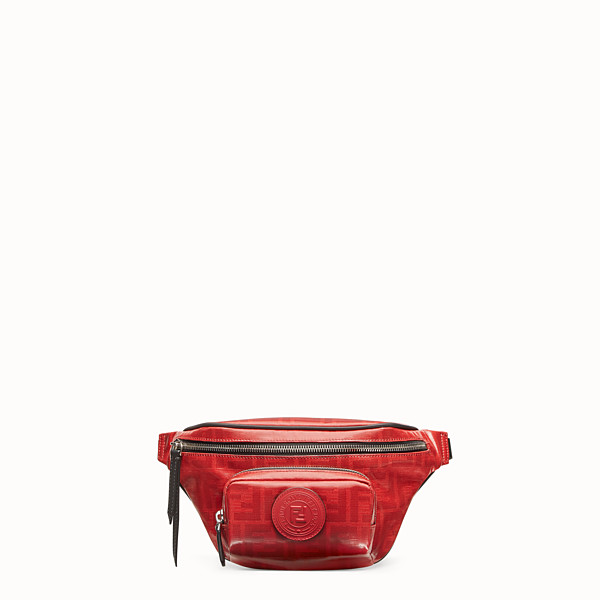 FENDI BELT BAG - Red fabric belt bag - view 1 small thumbnail