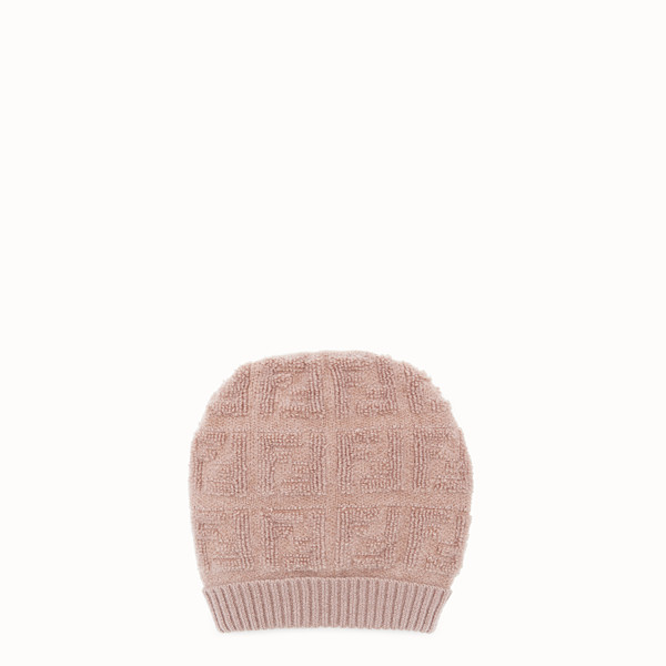 FENDI HAT - Beige jersey hat - view 1 small thumbnail