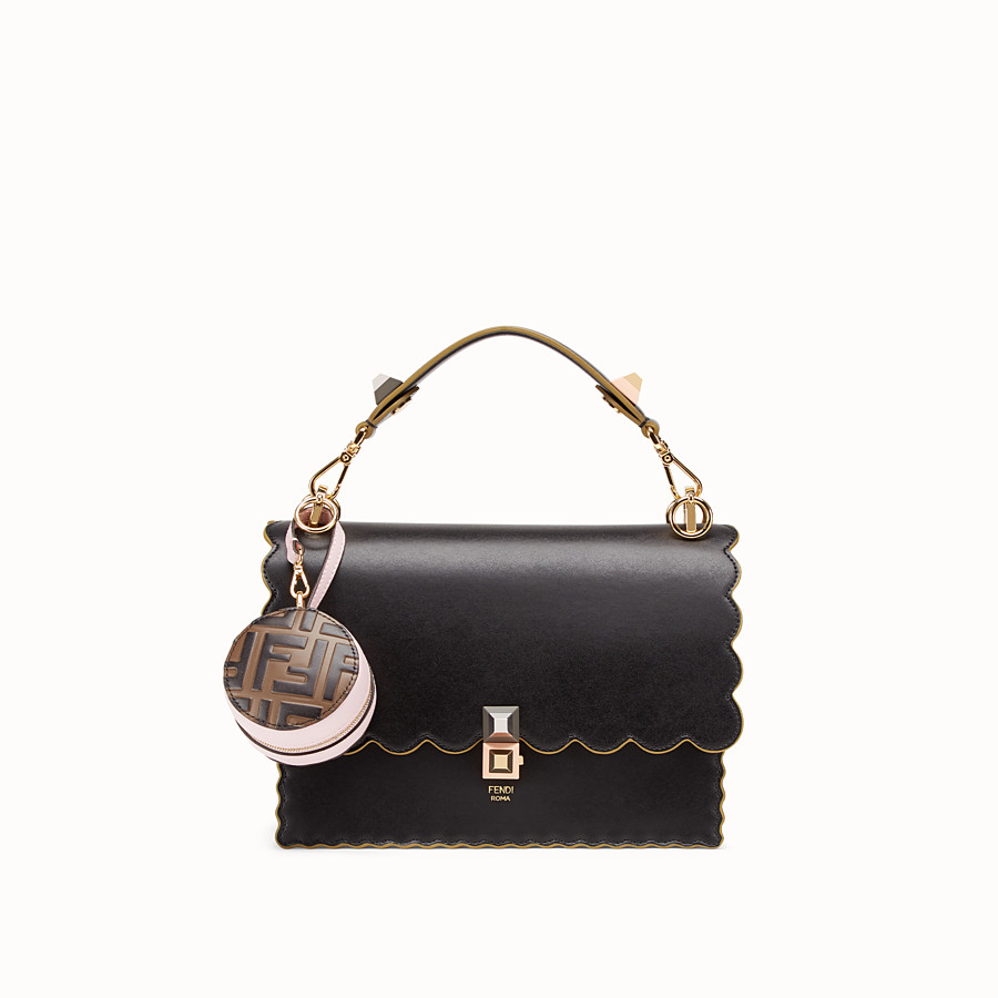 FENDI TOTE BAG CHARM - Pink leather charm - view 3 detail