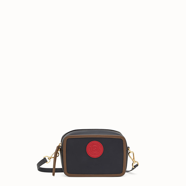 FENDI MINI CAMERA CASE - Borsa in pelle multicolor - vista 1 thumbnail piccola