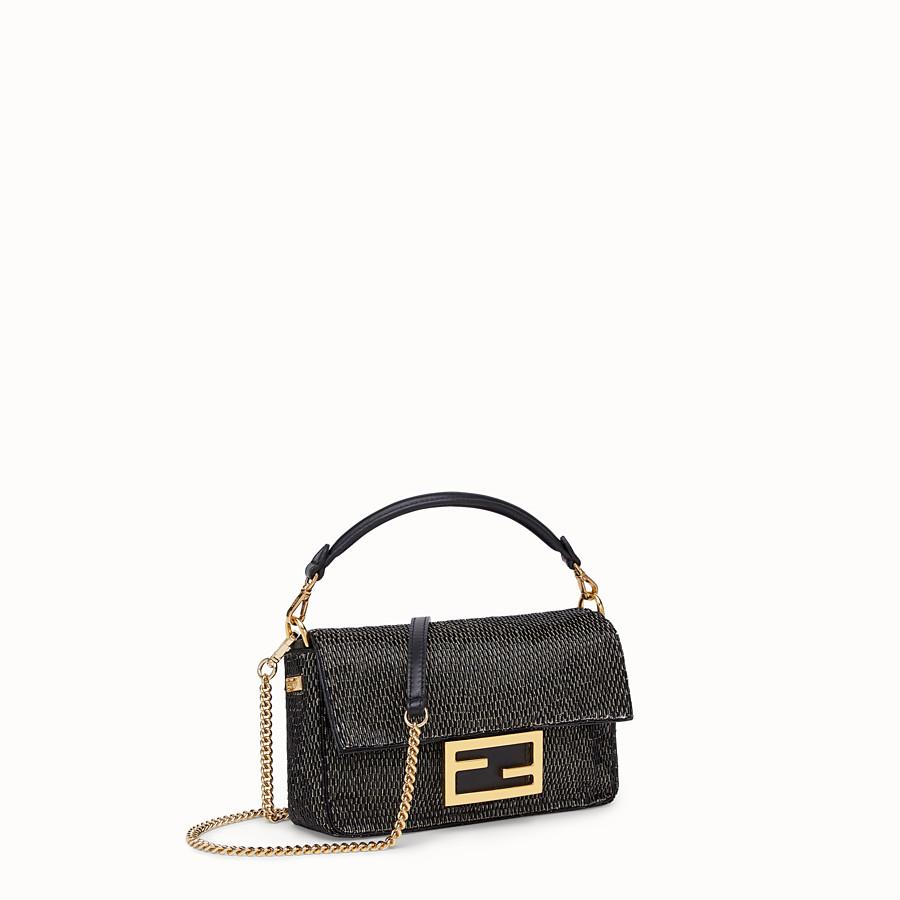 FENDI BAGUETTE - Tasche aus Leder in Schwarz - view 3 detail