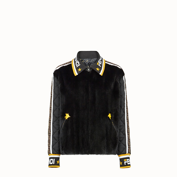 FENDI JACKET - Multicolour mink and sheepskin jacket - view 1 small thumbnail