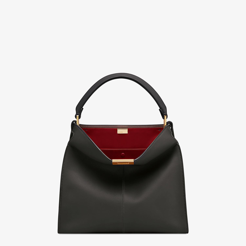 FENDI PEEKABOO X-LITE MEDIUM - Black leather bag - view 2 detail