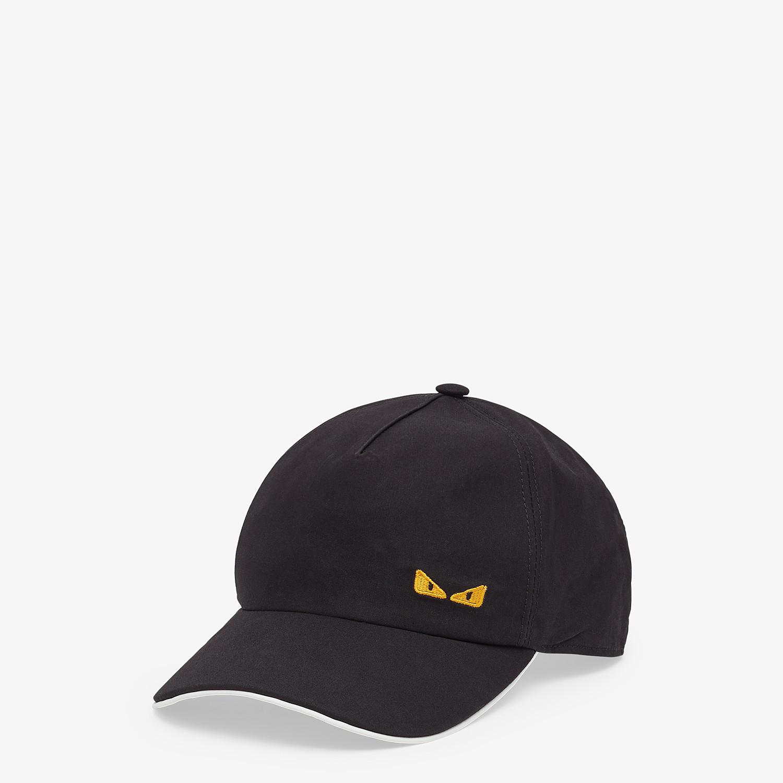 FENDI HAT - Baseball cap in black cotton - view 1 detail