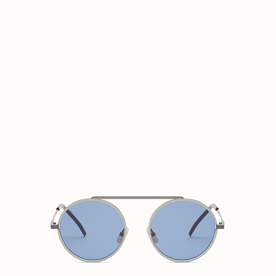 FENDI EVERYDAY FENDI - Ruthenium sunglasses - view 1 detail