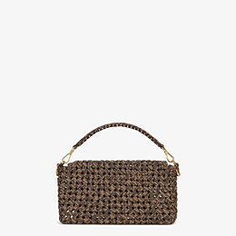 FENDI BAGUETTE - Tasche aus Stoff in Interlace Jacquard - view 4 thumbnail