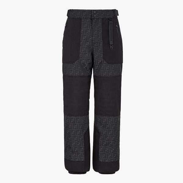 Pantalon en tissu technique noir
