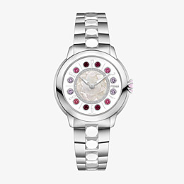 FENDI FENDI ISHINE - 38 MM - Watch with diamonds and rotating gemstones - view 1 thumbnail