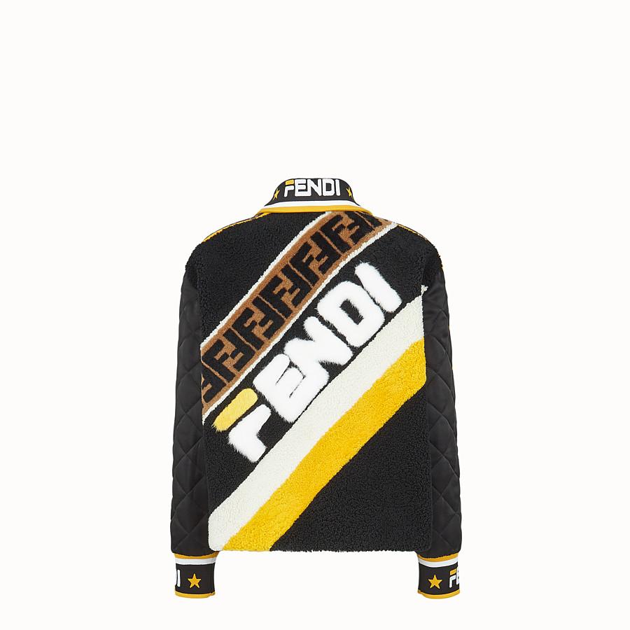 FENDI 재킷 - 멀티 컬러의 밍크와 양가죽 재킷 - view 2 detail